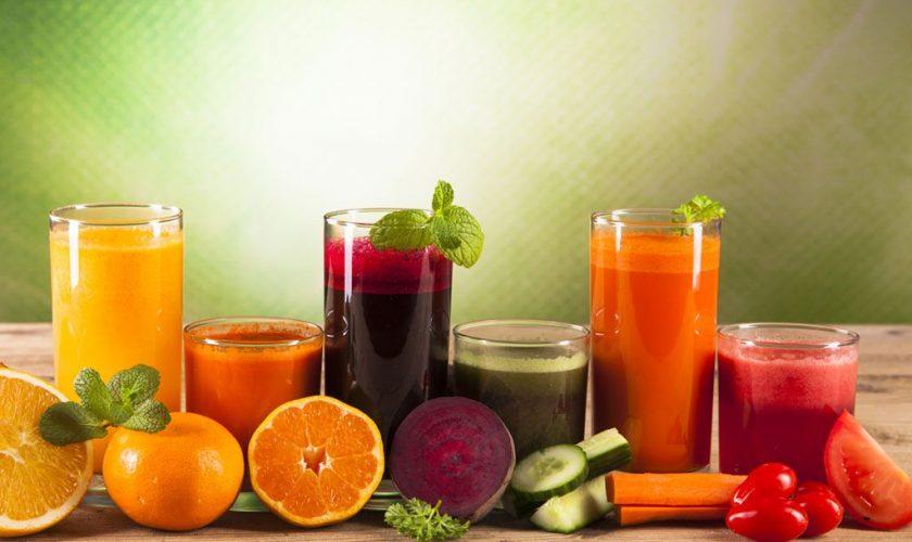 Five Health Advantages of Juicing Fruits & Vegetables